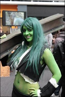 Tabitha Lyons as She-Hulk