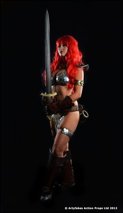 Tabitha Lyons as Red Sonja