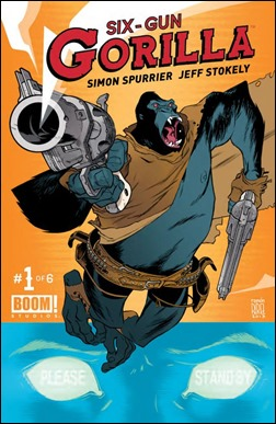 Six Gun Gorilla #1 Cover