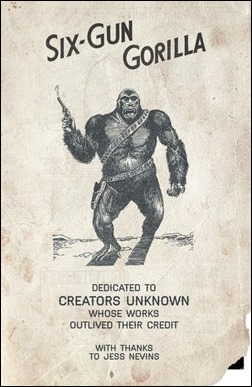 Six Gun Gorilla #1 Preview 2