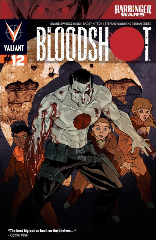 Bloodshot #12 Cover
