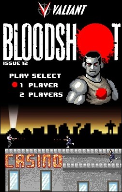 Bloodshot #12 8-bit Cover