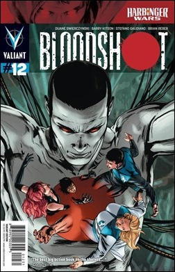 Bloodshot #12 Cover - Zircher Variant