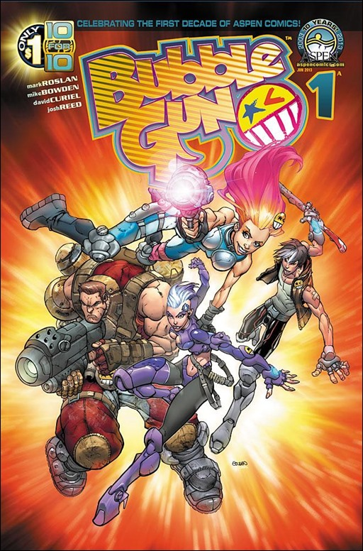 BUBBLEGUN #1 Cover A