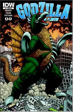 Godzilla: Rulers of Earth #1 Cover