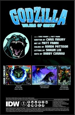 Godzilla: Rulers of Earth #1 Preview 1