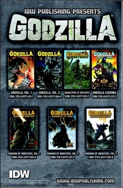Godzilla: Rulers of Earth #1 Preview 2