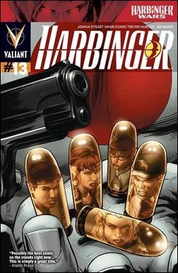 Harbinger #13 Cover - Zircher
