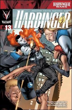 Harbinger #13 Cover - Evans Variant