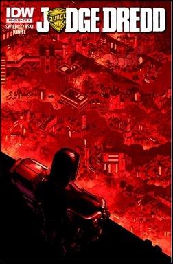Judge Dredd #8 Cover