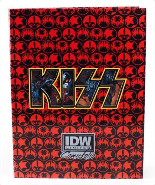 KISS Solo Comicfolio edition