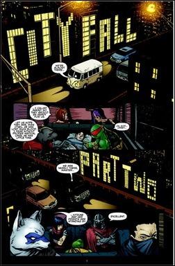 Teenage Mutant Ninja Turtles #23 Preview 2