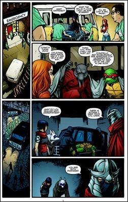 Teenage Mutant Ninja Turtles #23 Preview 3