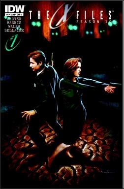 The X-Files: Season 10 #1 Cover