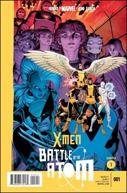 X-Men: Battle of the Atom #1 Cover