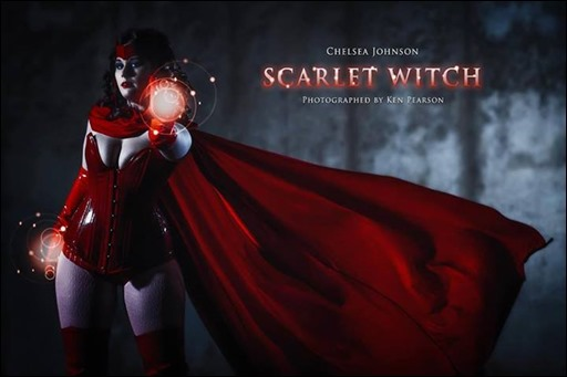 Scarlet Witch cosplay - Photographer: Ken Pearson