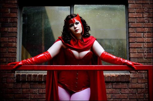 Scarlet Witch cosplay - Photographer: A.L.P. Photography