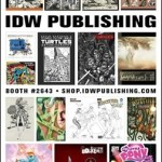 IDW Publishing Announces San Diego Comic-Con 2013 Exclusives