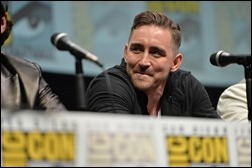 """SAN DIEGO, CA - JULY 20:  Actor Lee Pace speaks at Marvel's """"Guardians Of The Galaxy"""" panel during Comic-Con International 2013 at San Diego Convention Center on July 20, 2013 in San Diego, California.  (Photo by Alberto E. Rodriguez/WireImage)"""