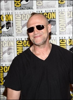 """SAN DIEGO, CA - JULY 20:  Actor Michael Rooker attends Marvel Studios' """"Thor: The Dark World"""", """"Captain America: The Winter Soldier"""" and """"Guardians of The Galaxy"""" during Comic-Con International 2013 at Hilton San Diego Bayfront Hotel on July 20, 2013 in San Diego, California.  (Photo by Ethan Miller/Getty Images)"""