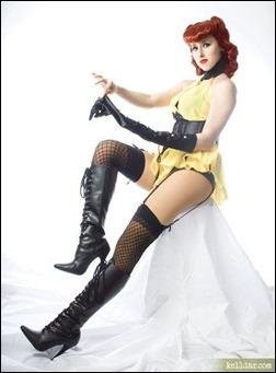 Kelldar as Sally Jupiter