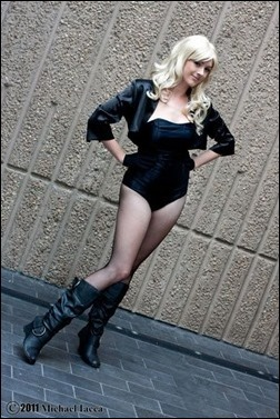 Black Canary cosplay - Photo by Michael Iacca