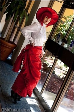 Madame Red cosplay - Photo by Michael Iacca