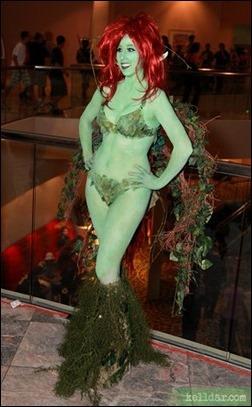 Kelldar as Poison Ivy (Ame-Comi statue version)