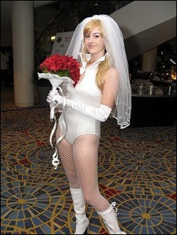 Wedding Special Black Canary cosplay