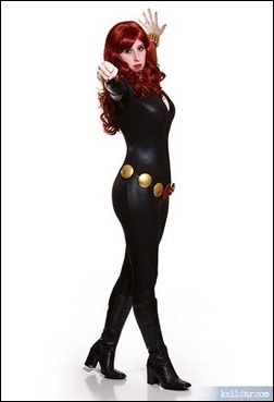 Kelldar as Black Widow