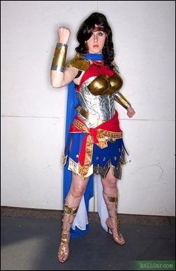 Kelldar as Queen Hippolyta