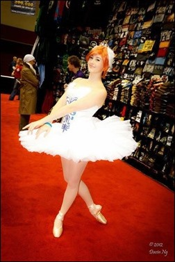 Princess Tutu cosplay - Photo by Davin Ng