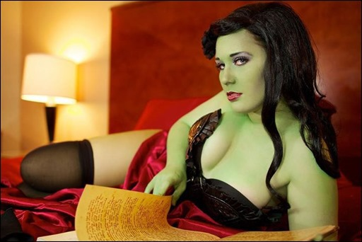 The Wicked Witch of the West cosplay - Photographer: Isidro Urena