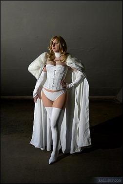 Kelldar as Emma Frost