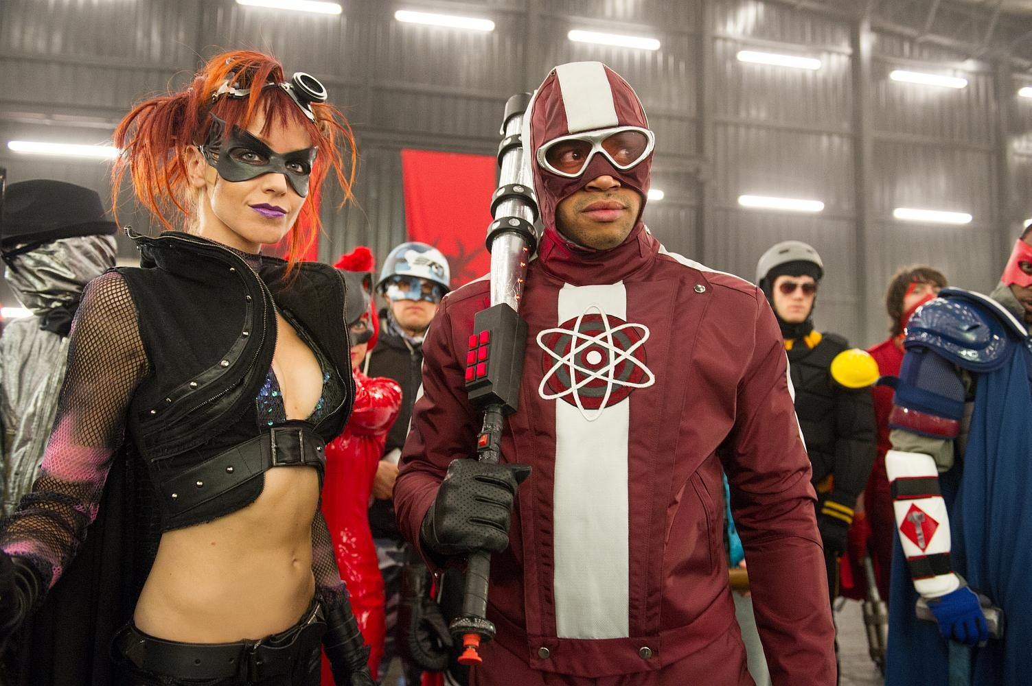Kick-ass 2. Actors who starred in the new adventures of Ubivashka and her friends 1