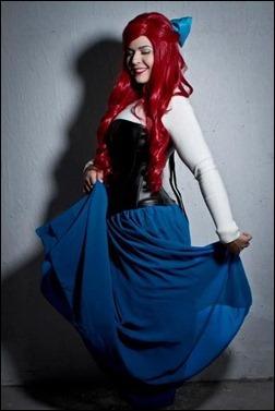 Lola Marie as Ariel