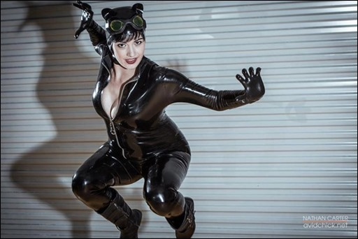 Catwoman cosplay - photo by Nathan Carter