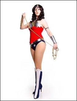 Kelldar as Wonder Woman