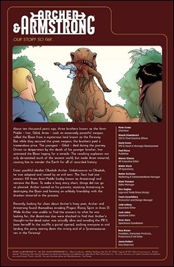 Archer & Armstrong #11 Preview 1