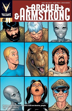 Archer & Armstrong #11 Cover