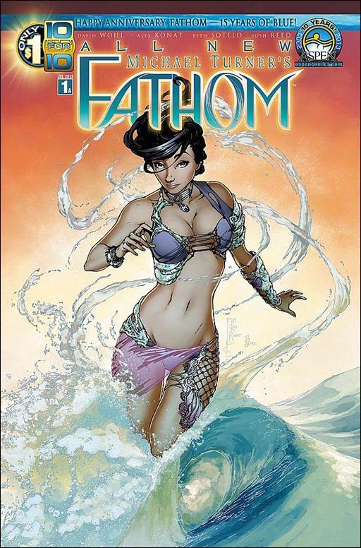 All New Fathom #1 Cover A - Konat