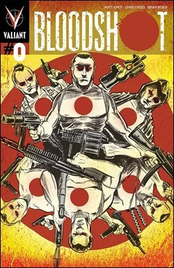Bloodshot #0 Matt Kindt Pullbox Cover