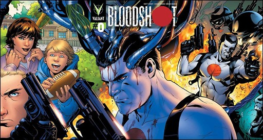 Bloodshot #0 Wraparound Cover