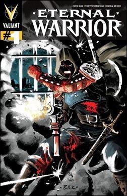 Eternal Warrior #1 Variant Cover - Bullock