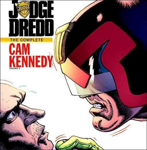 Judge Dredd: The Cam Kennedy Collection, Vol. 1