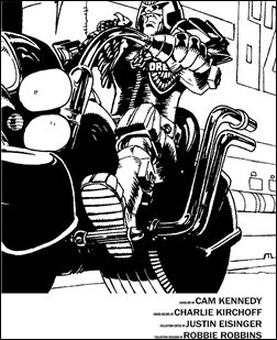 Judge Dredd: The Cam Kennedy Collection, Vol. 1 Preview 4