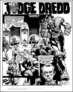 Judge Dredd: The Cam Kennedy Collection, Vol. 1 Preview 7