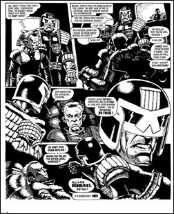 Judge Dredd: The Cam Kennedy Collection, Vol. 1 Preview 9