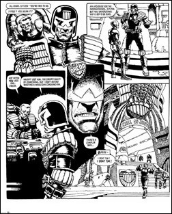 Judge Dredd: The Cam Kennedy Collection, Vol. 1 Preview 11