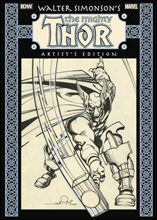 Walter Simonson's The Mighty Thor: Artist's Edition New Printing HC